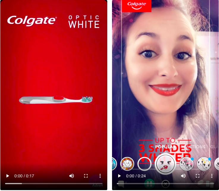 Colgate-Snapchat-Campaign